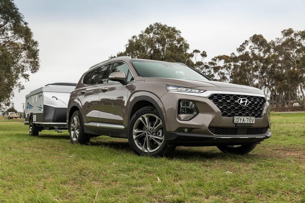 Hyundai Santa Fe Towing Capacity >> Hyundai Santa Fe 2019 Tow Test Www Caravancampingsales Com Au