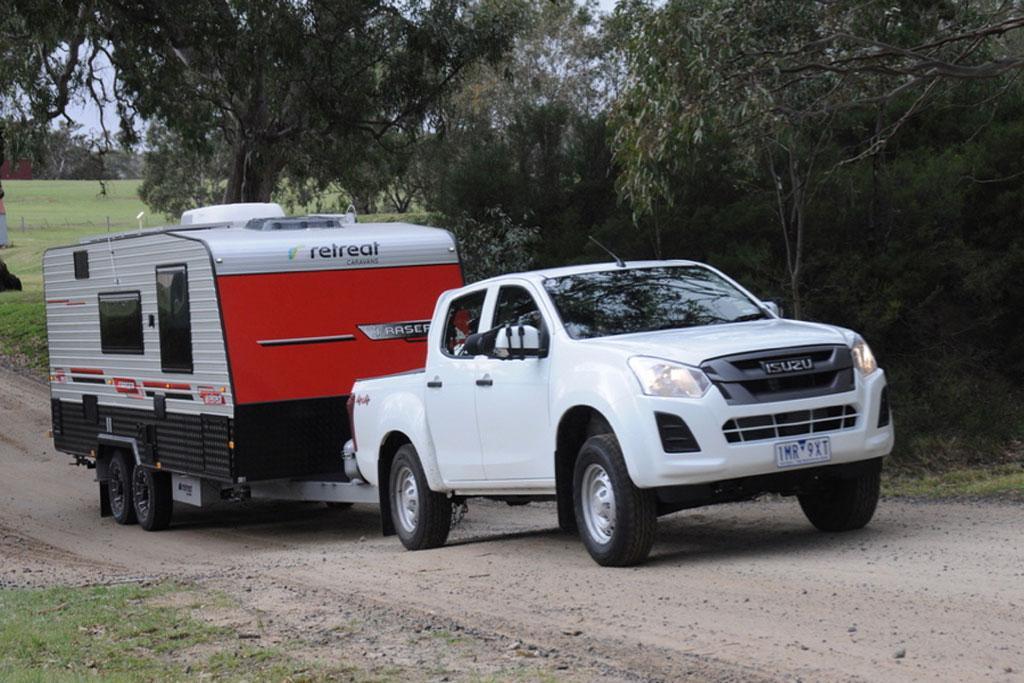 tow test: isuzu d-max 2018 - www.caravancampingsales.au