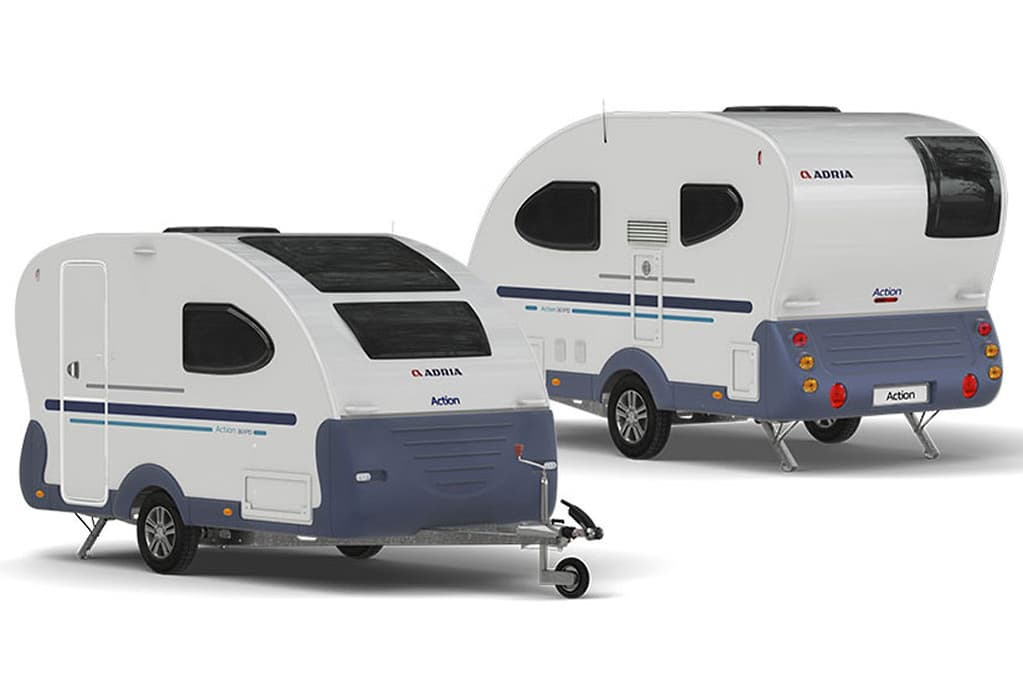 Top-5 small caravans - www caravancampingsales com au