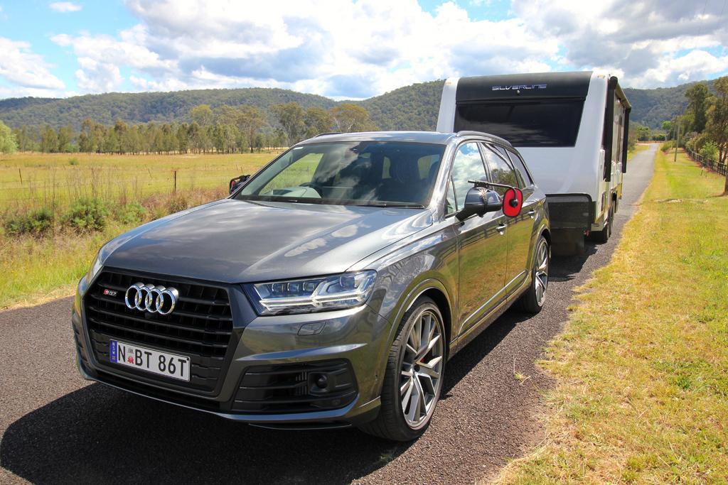 Audi Sq7 2020 Tow Test Www Caravancampingsales Com Au