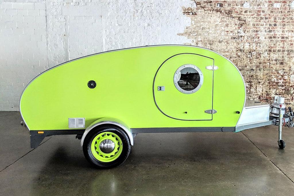 Funky new Aussie teardrop camper arrives - www