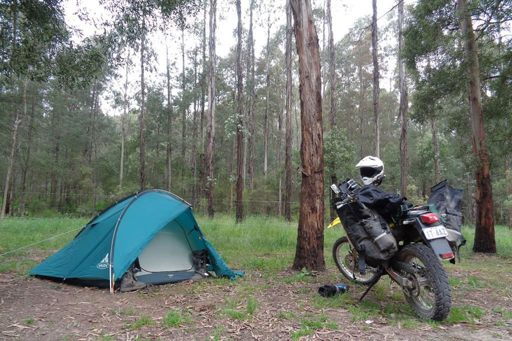 Top Tips For Motorcycle Camping Www Caravancampingsales Com Au