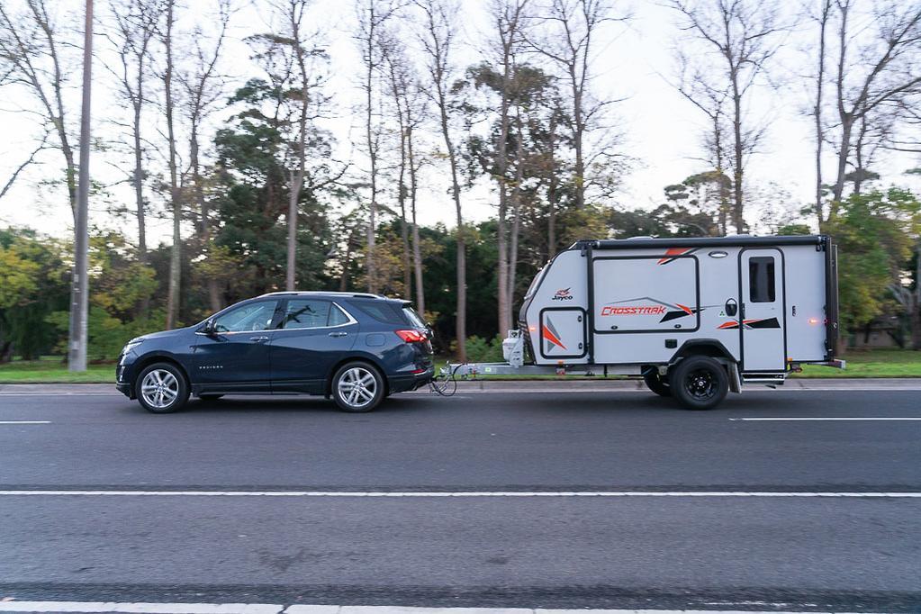 Holden Equinox 2019 Tow Test - www caravancampingsales com au