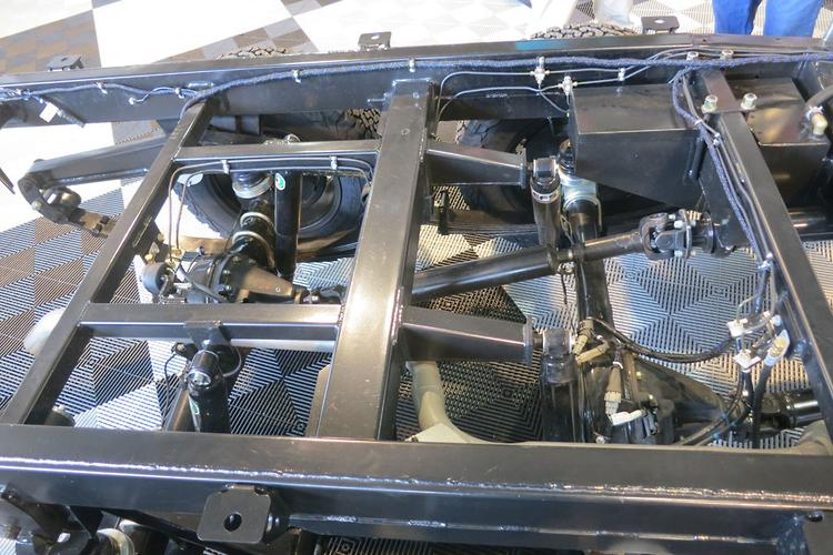 Explorer 6WD motorhome coming - www caravancampingsales com au