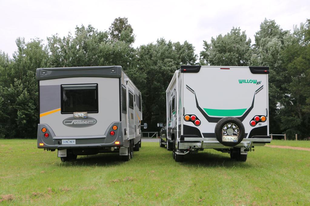 Fifth-wheeler versus caravan - www caravancampingsales com au