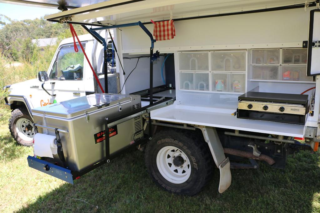 First look: Gecko Slide-On Camper - www caravancampingsales