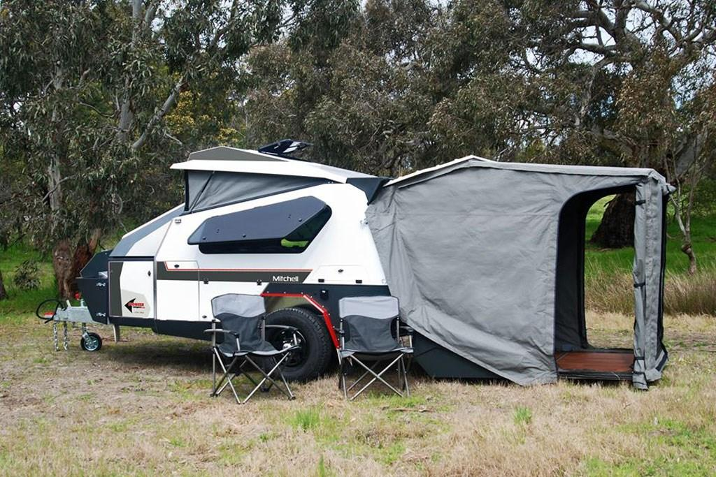 how to set up rear fold camper australian off road