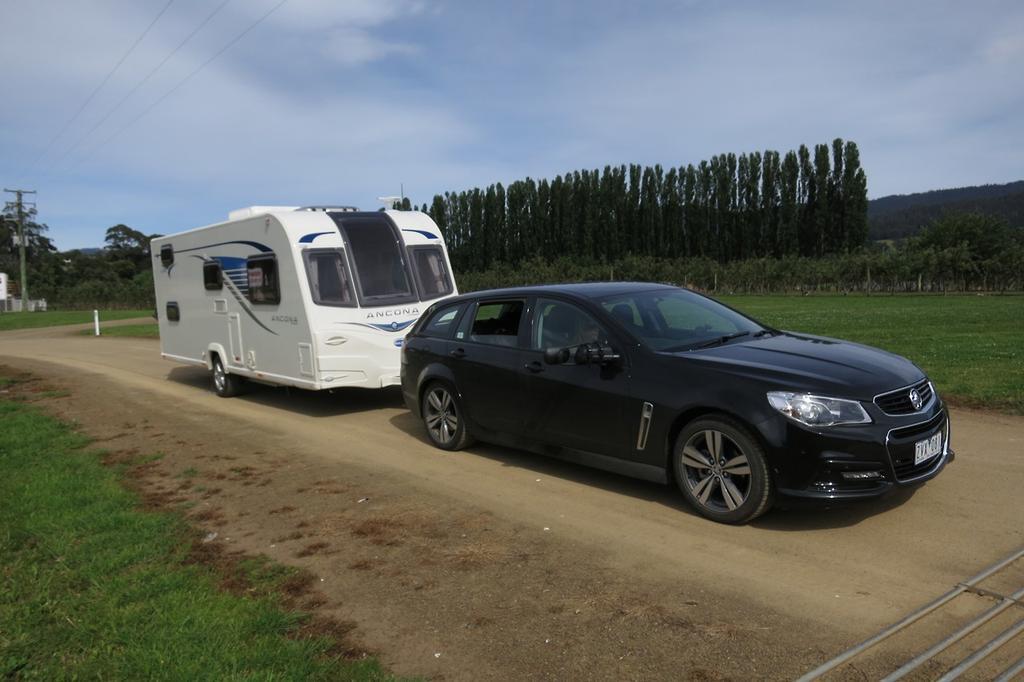 Tow Test: Holden Commodore Sportwagon SV6 - www