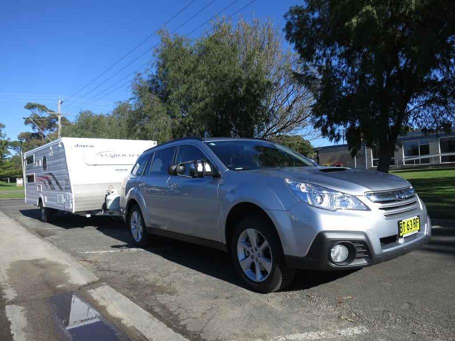 Tow Test: Subaru Outback 2 0D CVT - www caravancampingsales