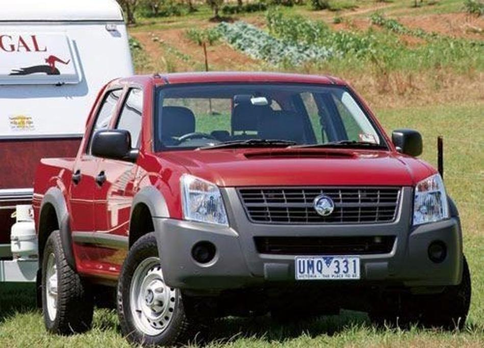Tow Test: Holden Rodeo LX Turbodiesel 4WD Dual-Cab - www