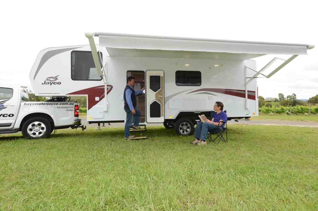 Jayco 5th Wheeler - www caravancampingsales com au