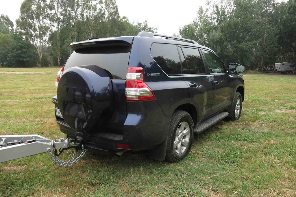Tow Test: Toyota LandCruiser Prado 2014 - www