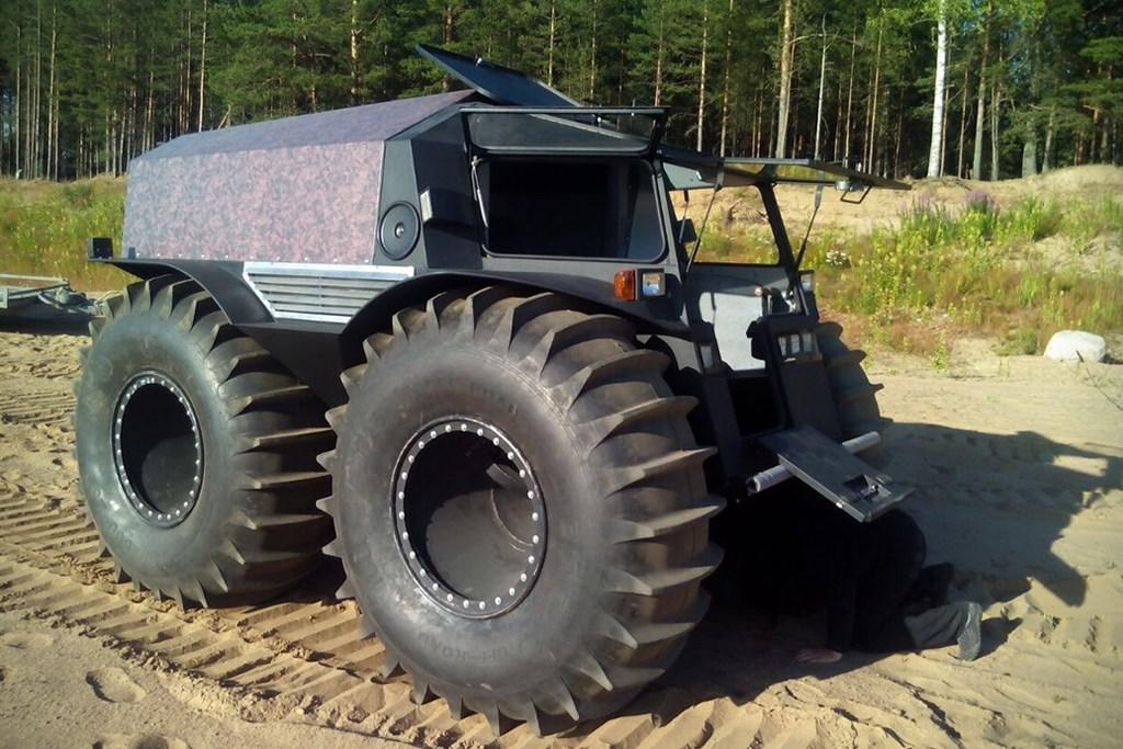 Sherp Atv For Sale >> Crazy Go Anywhere Amphibious Truck Www Caravancampingsales