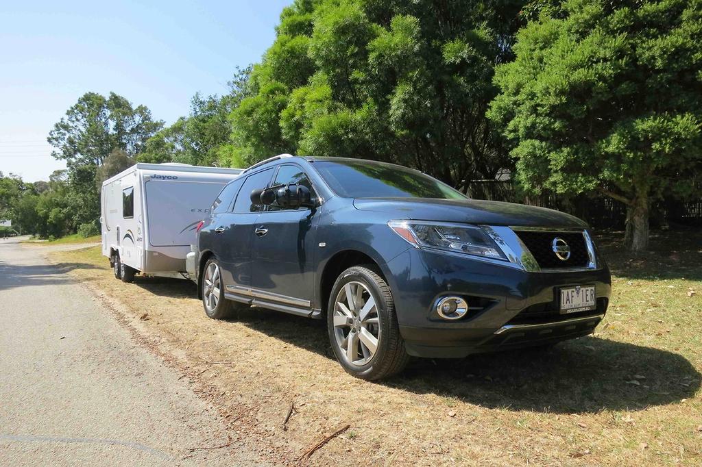 Tow Test: Nissan Pathfinder 2014 - www caravancampingsales com au