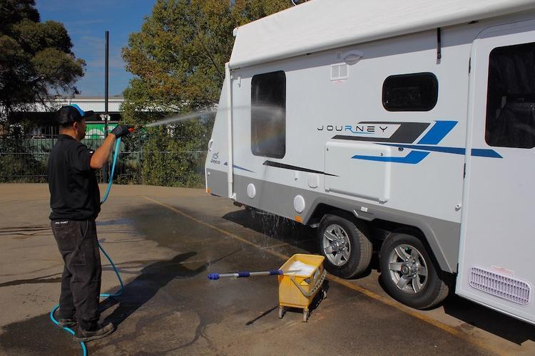 How do I clean my van? - www caravancampingsales com au