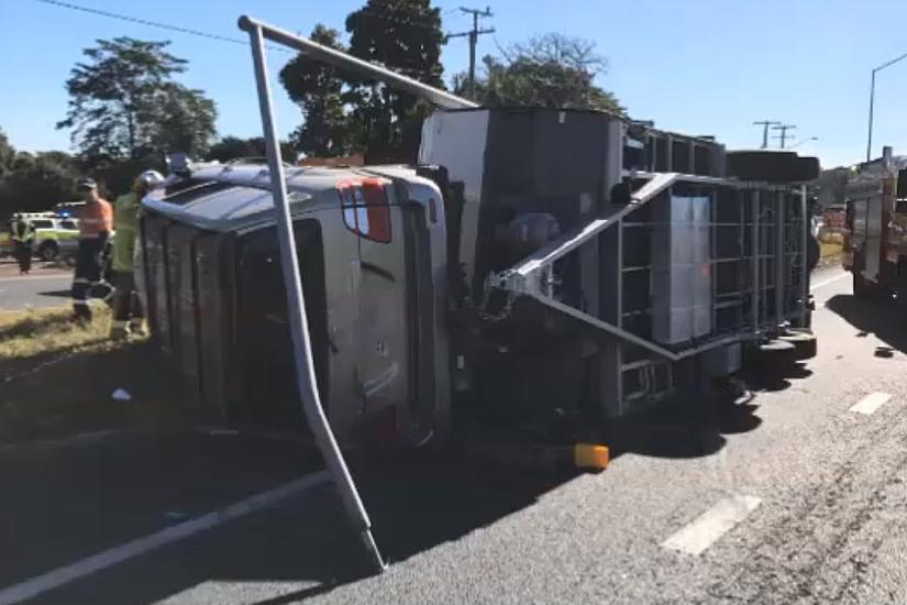 Caravan crash caught on video - www caravancampingsales com au