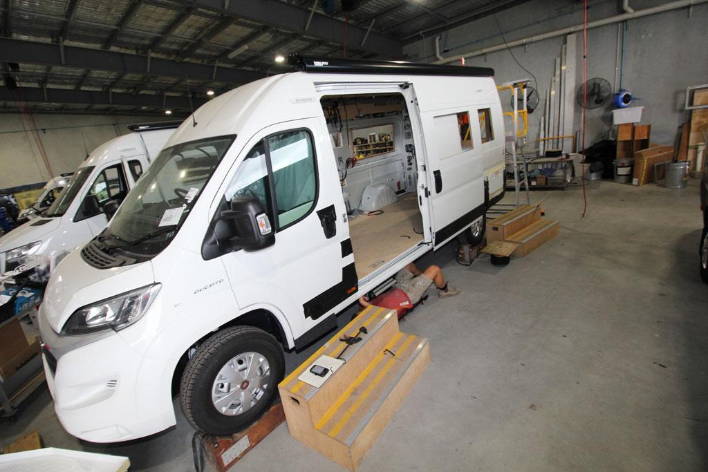 How to build a campervan - www caravancampingsales com au