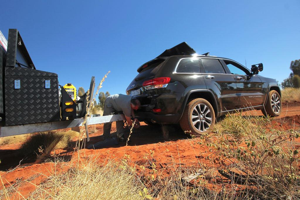 Tow test jeep grand cherokee 2018 caravancampingsales heading north west between pimba and glendambo in south australia for example the jeep averaged 240l100km it was struggling to shift up from sixth gear publicscrutiny Choice Image
