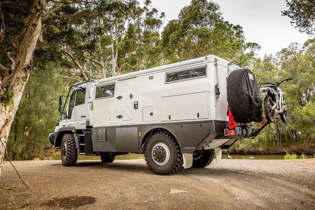 Unimog EarthCruiser tops $700,000 - www caravancampingsales