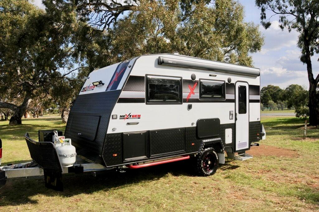 Blurring The Line Between An Off Road Caravan And A Hybrid Camper Melbourne Built Nextgen X Ticks Most Of Bo For Its 69 990