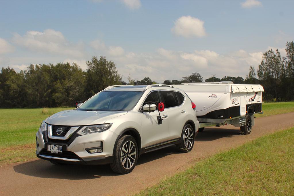 Tow Test: Nissan X-Trail 2018 - www caravancampingsales com au