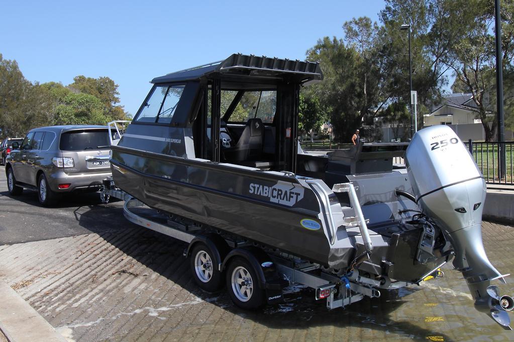 Tow test: Nissan Patrol 2018 - www caravancampingsales com au