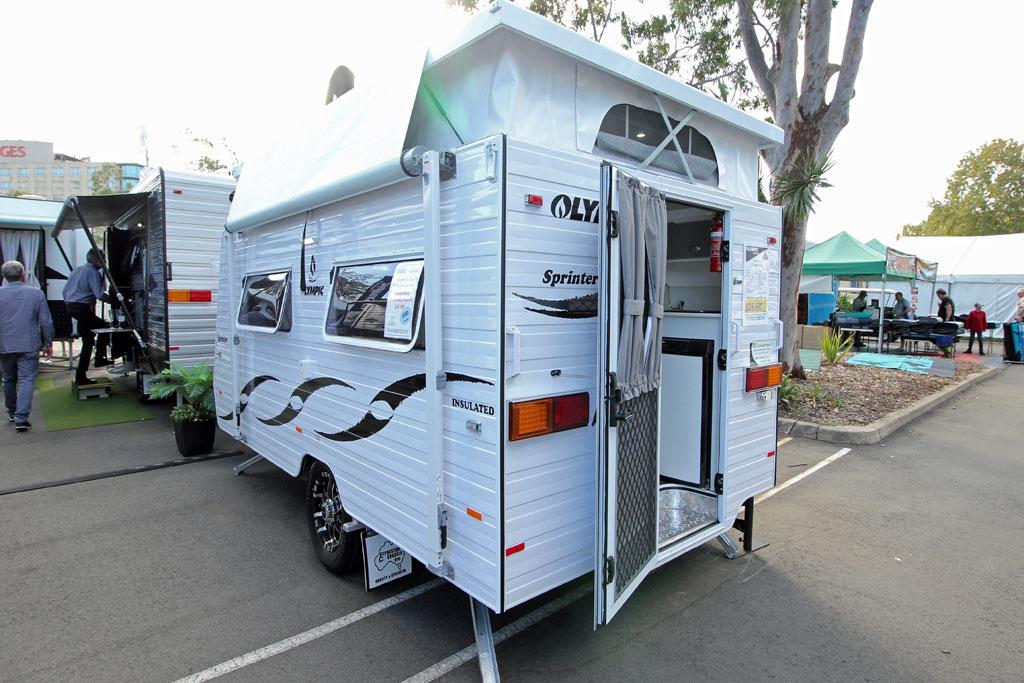 New Budget Pop Top From Olympic Caravancampingsales
