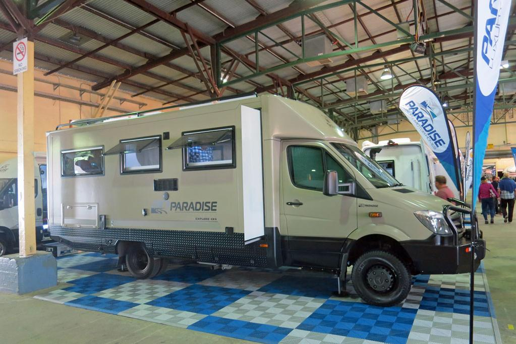 Paradise delivers high-tech hybrid motorhome - www