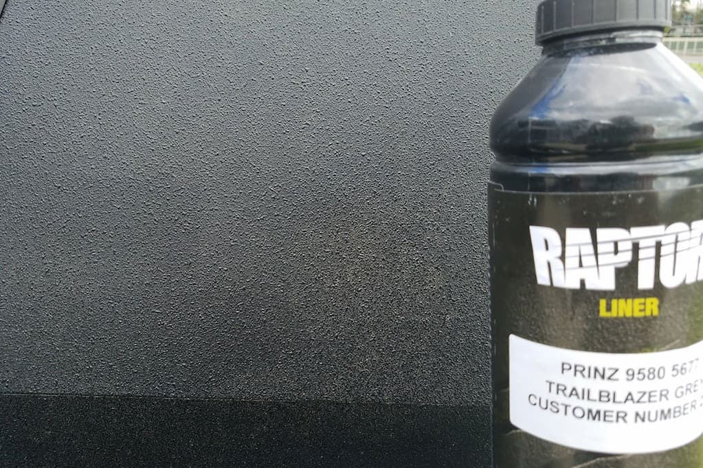 Raptor caravan coating all the rage, TTRV   Traveller Caravans & Trailblazers RV