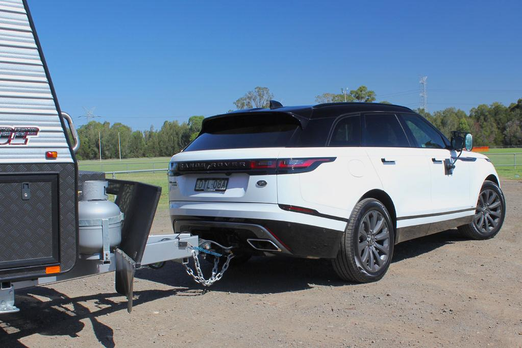 Tow Test Range Rover Velar 2018 Caravancampingsales Com Au