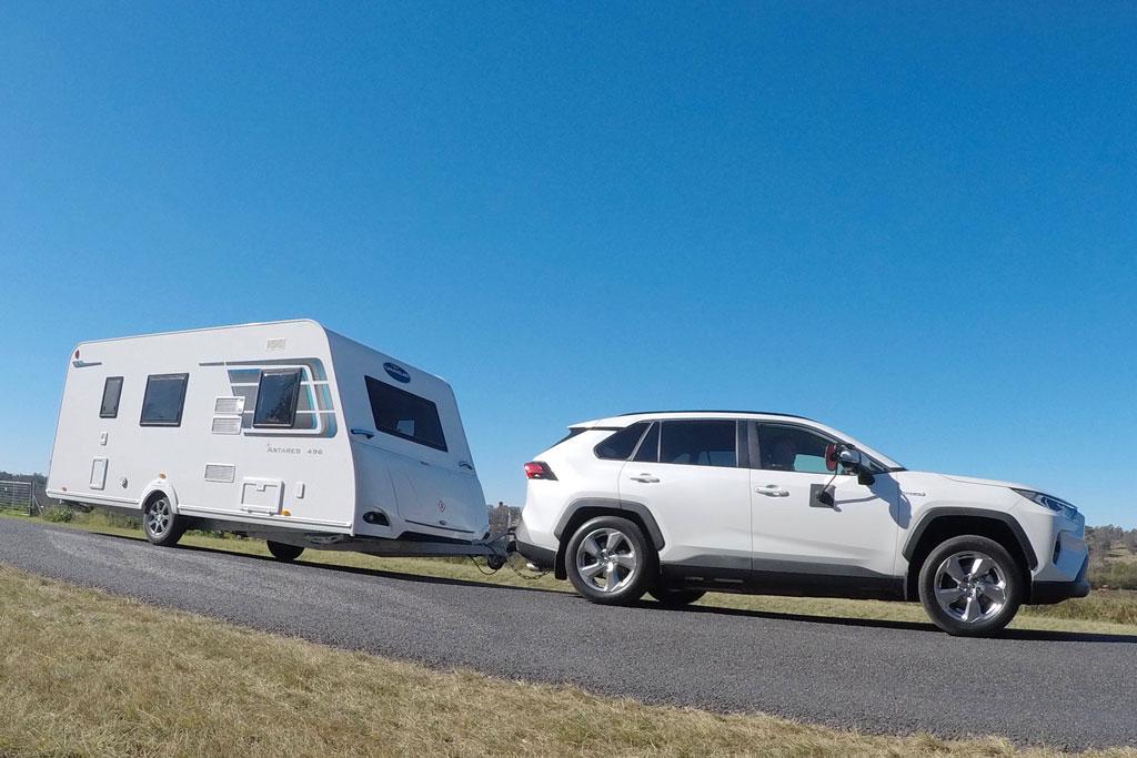 Toyota RAV4 Hybrid 2019 Tow Test - www.caravancampingsales ... on