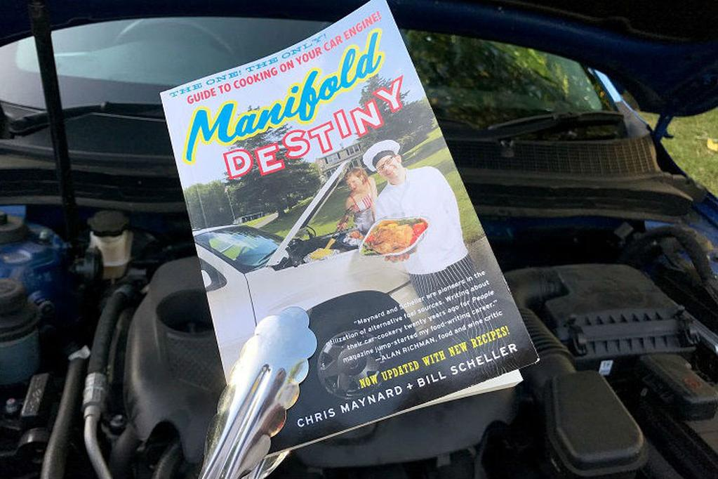 Manifold Destiny' a strange book about car engine cooking