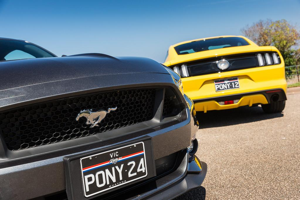 Ford Mustang v Ford Mustang 2016 Comparison - www carsales