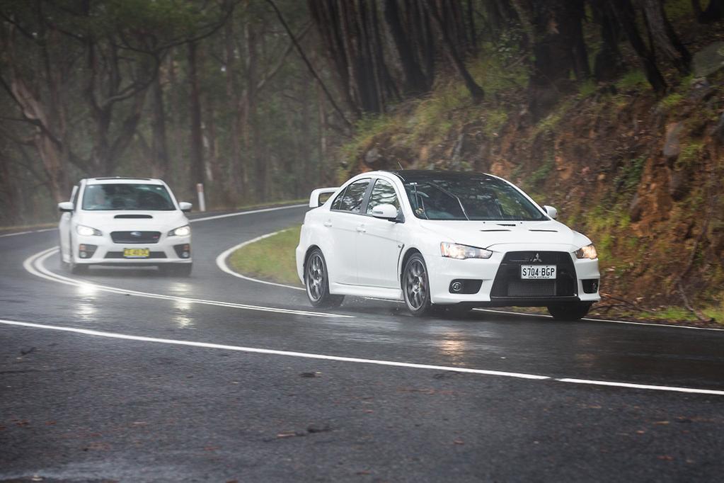 Final Fight Mitsubishi Lancer Evo V Subaru Wrx Sti 2016 Comparison