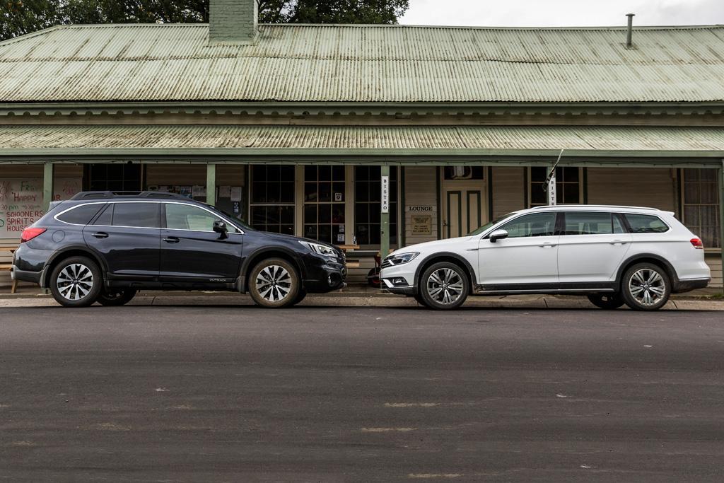 Subaru Outback V Volkswagen Pat Alltrack 2016 Comparison