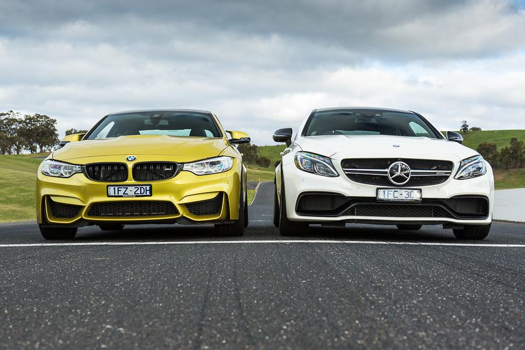 BMW M4 Competition v Mercedes-AMG C 63 S Coupe 2016