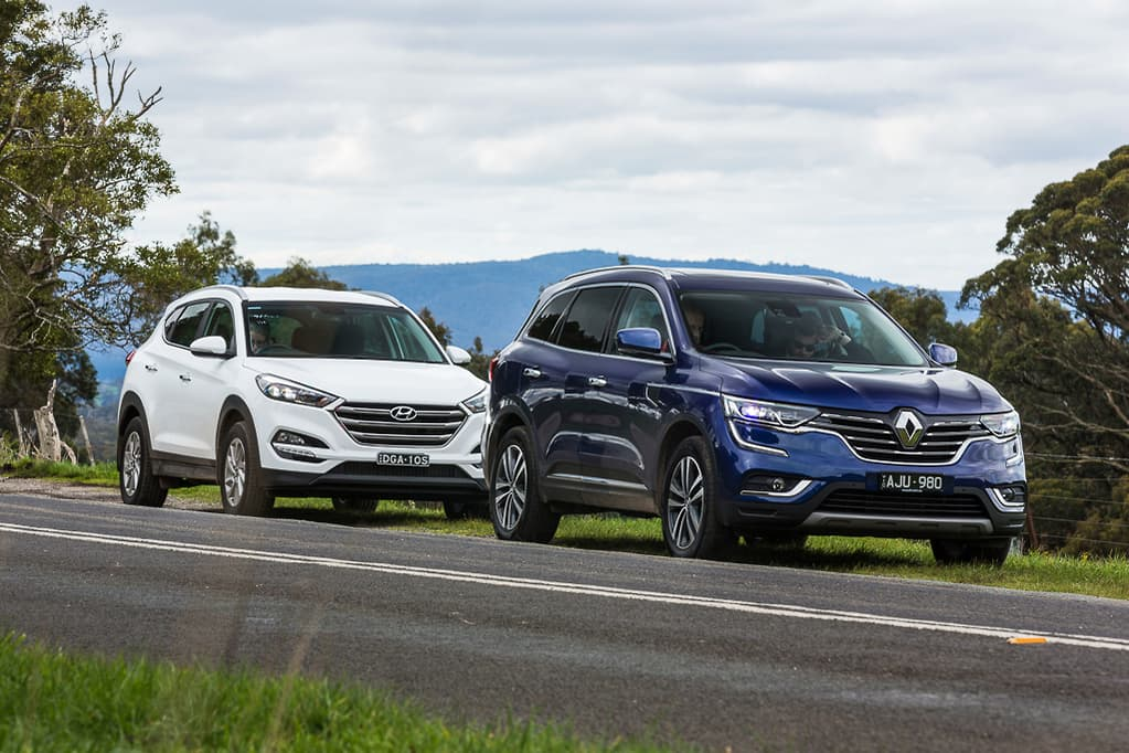 Hyundai Tucson v Renault Koleos 2016 Comparison - www