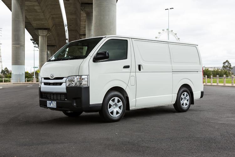 Toyota hiace gvm