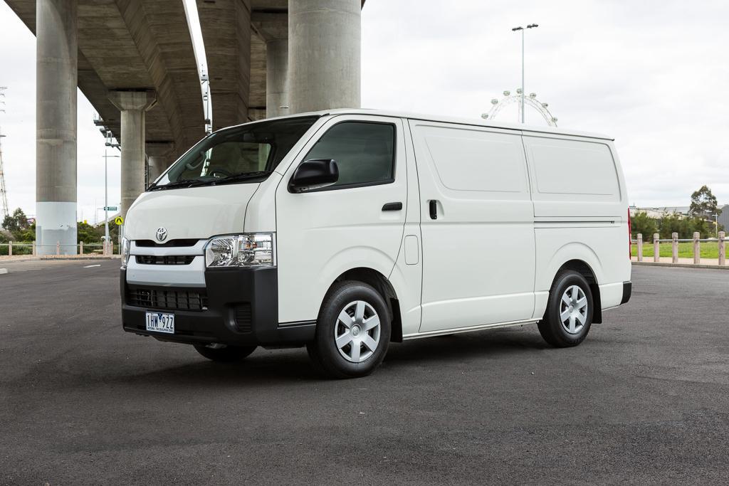 0f0a882e06 Toyota HiAce 2016 Review. It s dominated Australia s Medium van ...