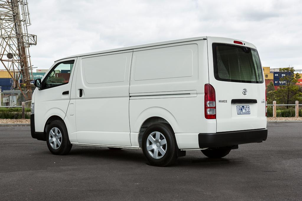 ee8374aeb7 Even just a look at the HiAce hints at part of its appeal. It has a  cab-over-engine format – the 3.0-litre turbo-diesel lies underneath the  passenger seat ...