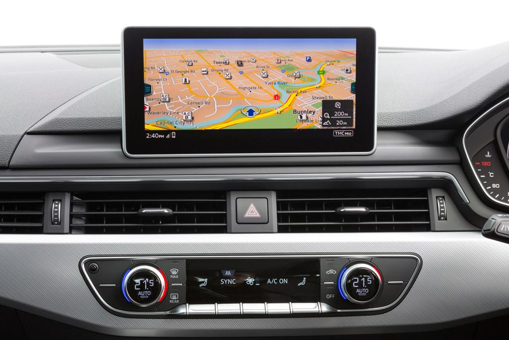 Audi A4 Avant tech and infotainment on demand - www carsales