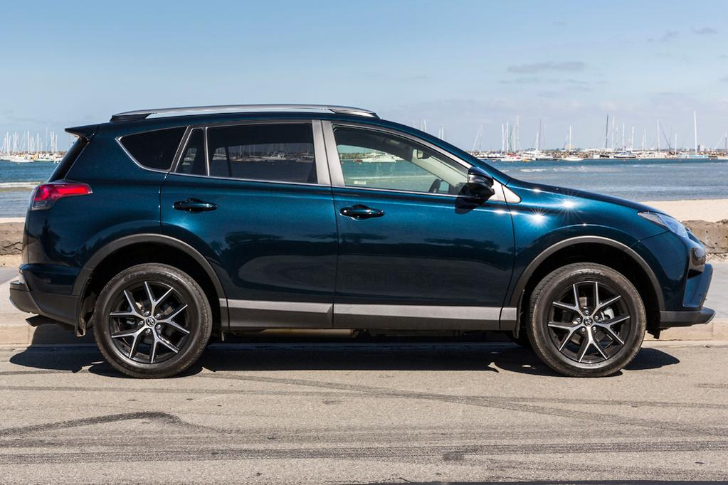 The Rav4 Was A Strong Package As We Found In Comparo Against Honda Cr V Last Year There Abundant Room Boot