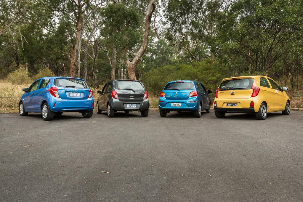 The Four Cars On Test Sit At Entry End Of Their Respective Manufacturer S Line Up Which Makes Them Ideal For First Time New Car Ers They Re Also
