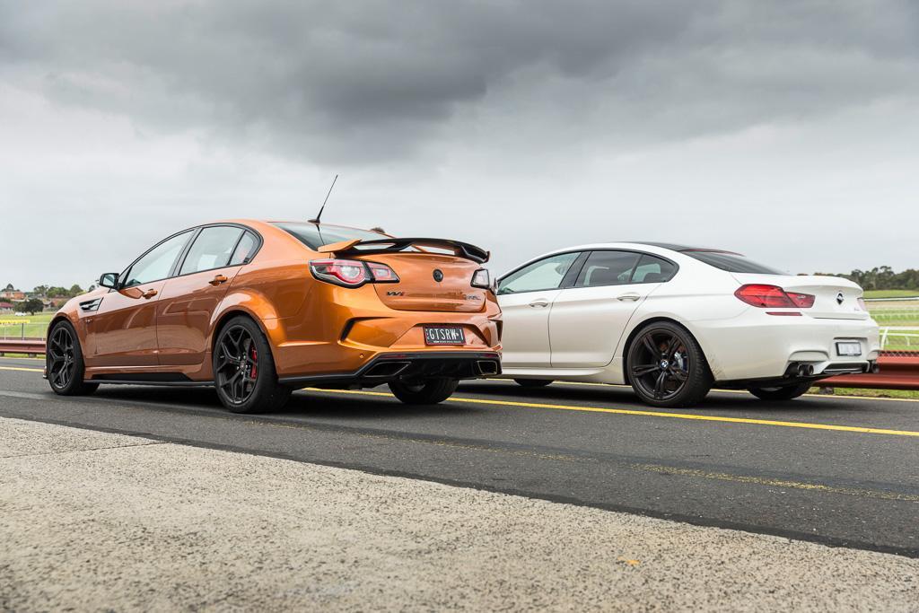 Supercar match-up: HSV GTSR W1 v BMW M6 - www carsales com au