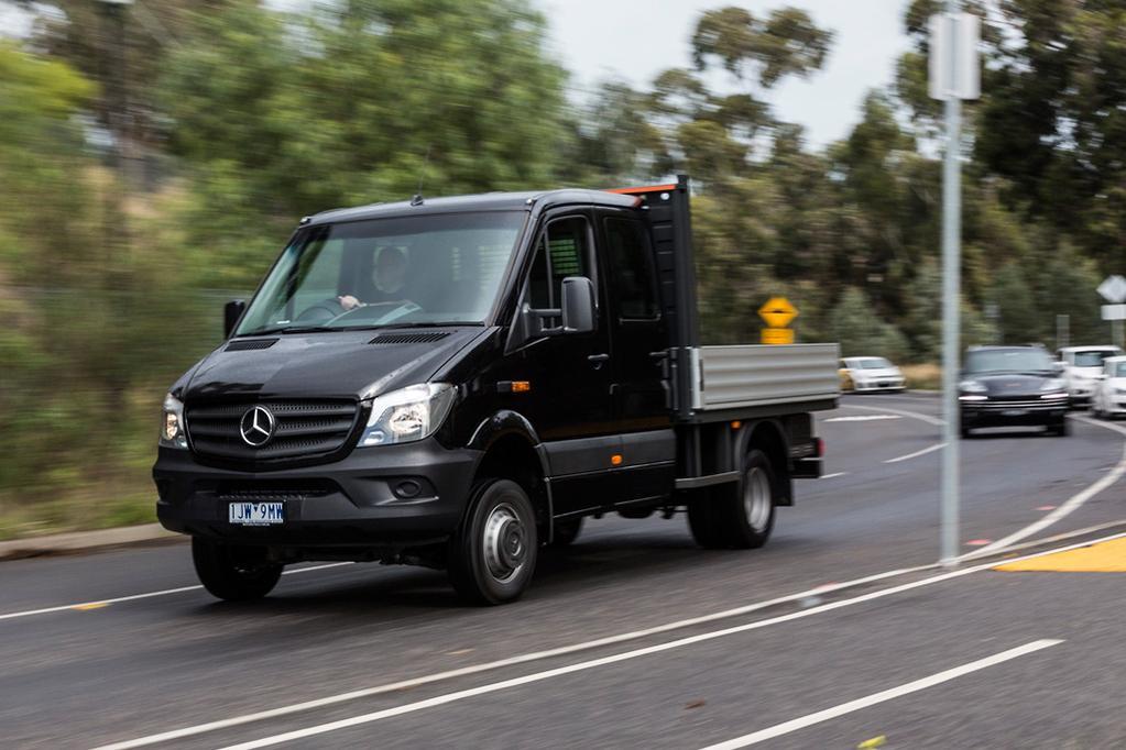 Mercedes-Benz Sprinter 2017 Review - www carsales com au