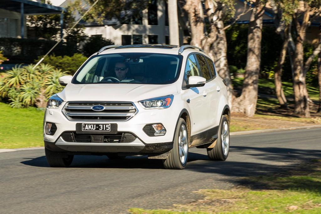 Medium Suv Comparison 2017 Ford Escape Review