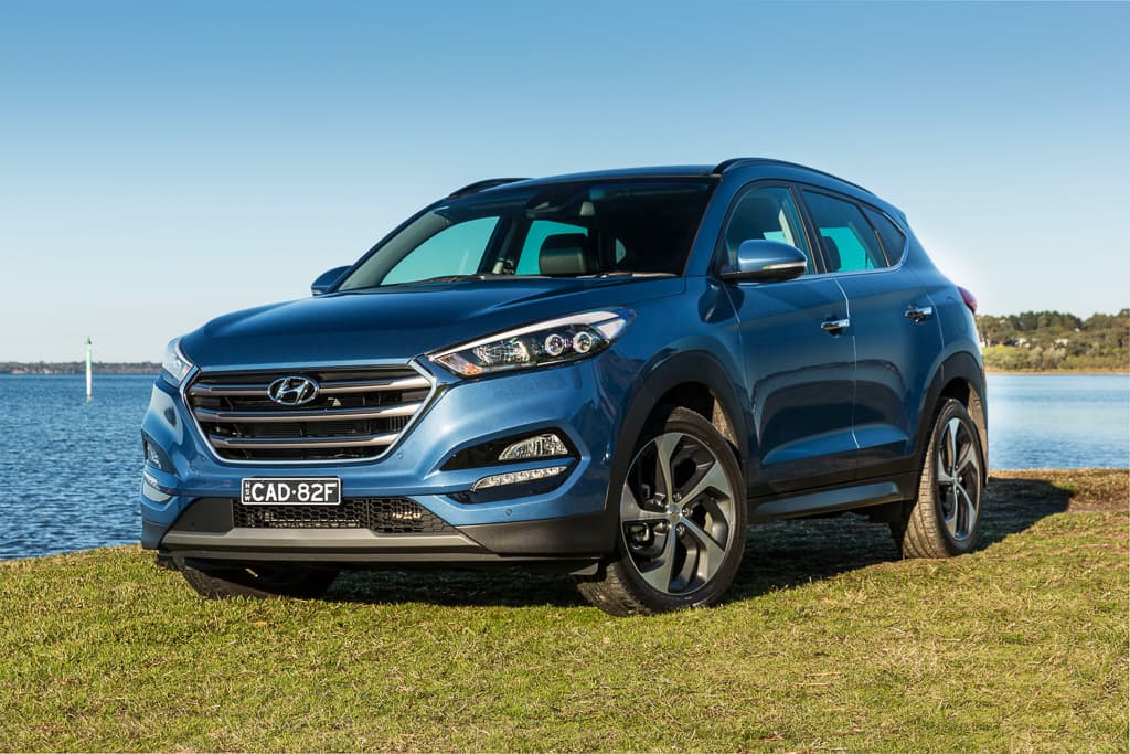 Medium Suv Comparison 2017 Hyundai Tucson Review