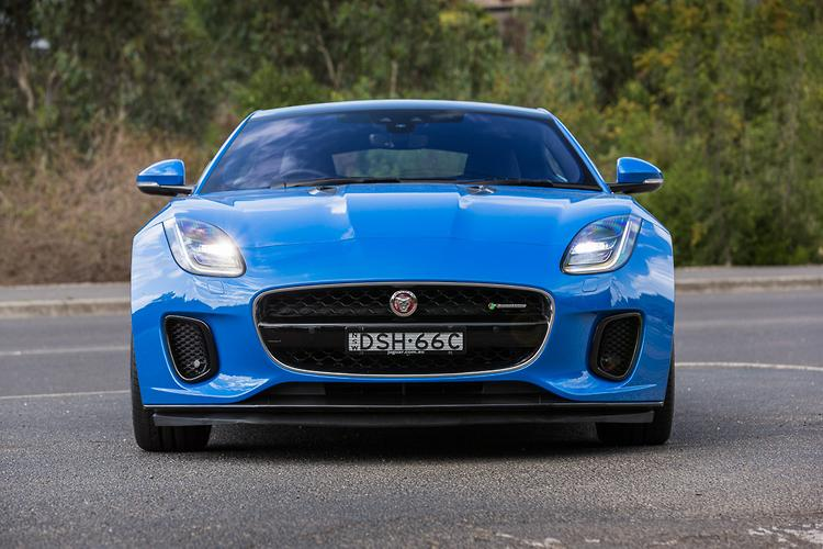 Jaguar Says The Four Cylinder F TYPE Arrived As A Precursor To A  Face Lifted Model Range That Went On Sale Late Last Year. Key Visual  Differences Include ...