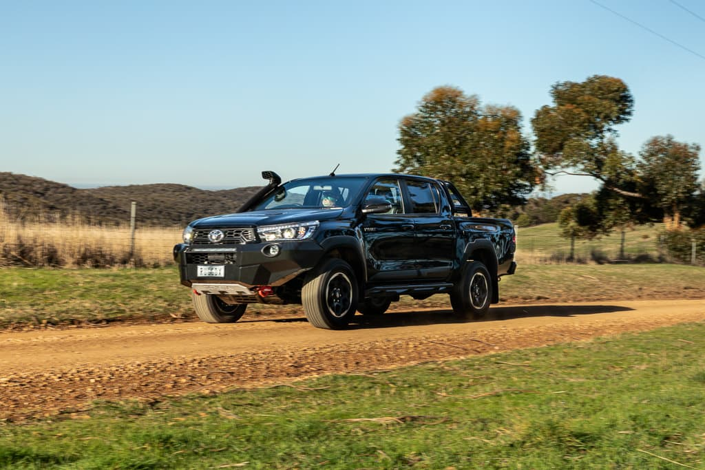 Toyota strikes diesel and dust drama - www carsales com au
