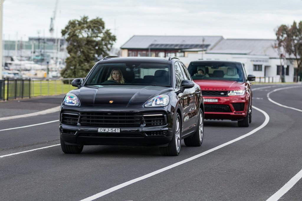 Range Rover Sport Hse V Porsche Cayenne S 2018 Comparison